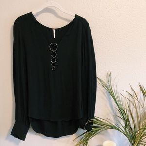 Free People ring blouse